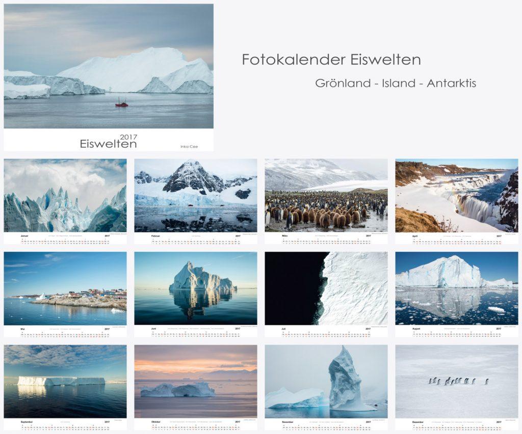 Eiswelten Fotokalender 2017