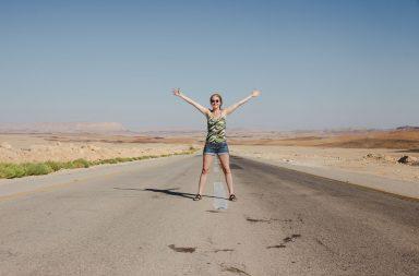 Negev Wüste in Israel