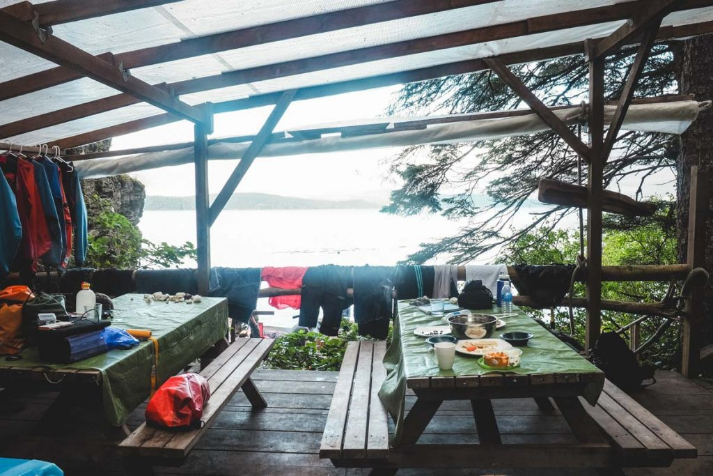 Orca Camp - Hütte auf Vancouver Island