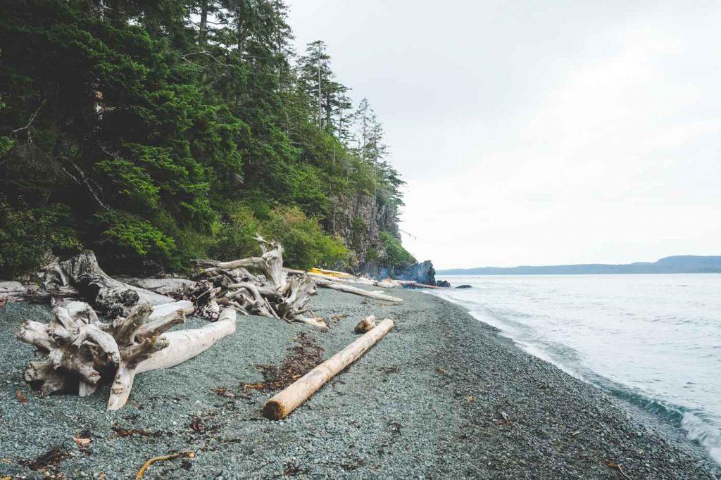 Orca Camp von Ecosummer Expeditions auf Vancoouver Island neben dem Robson Bight Reservat.