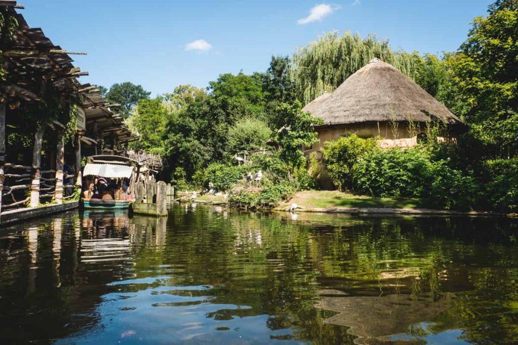 "Der ""Sambezi""-Fluss im Zoo Hannover"