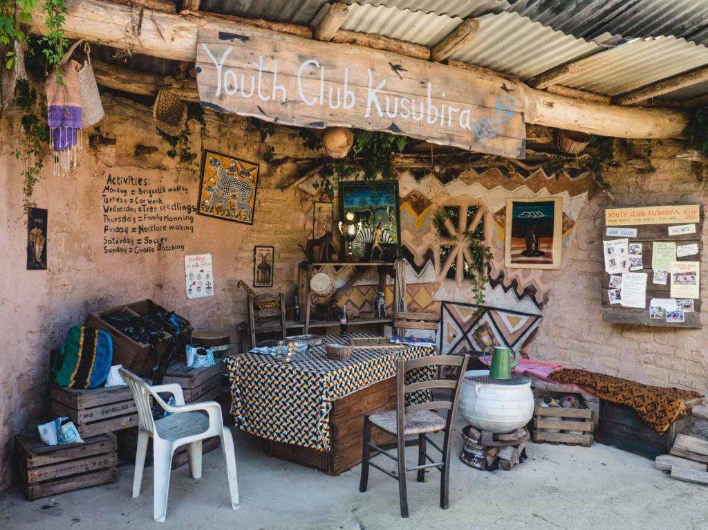 """Afrikanischer"" Shop"