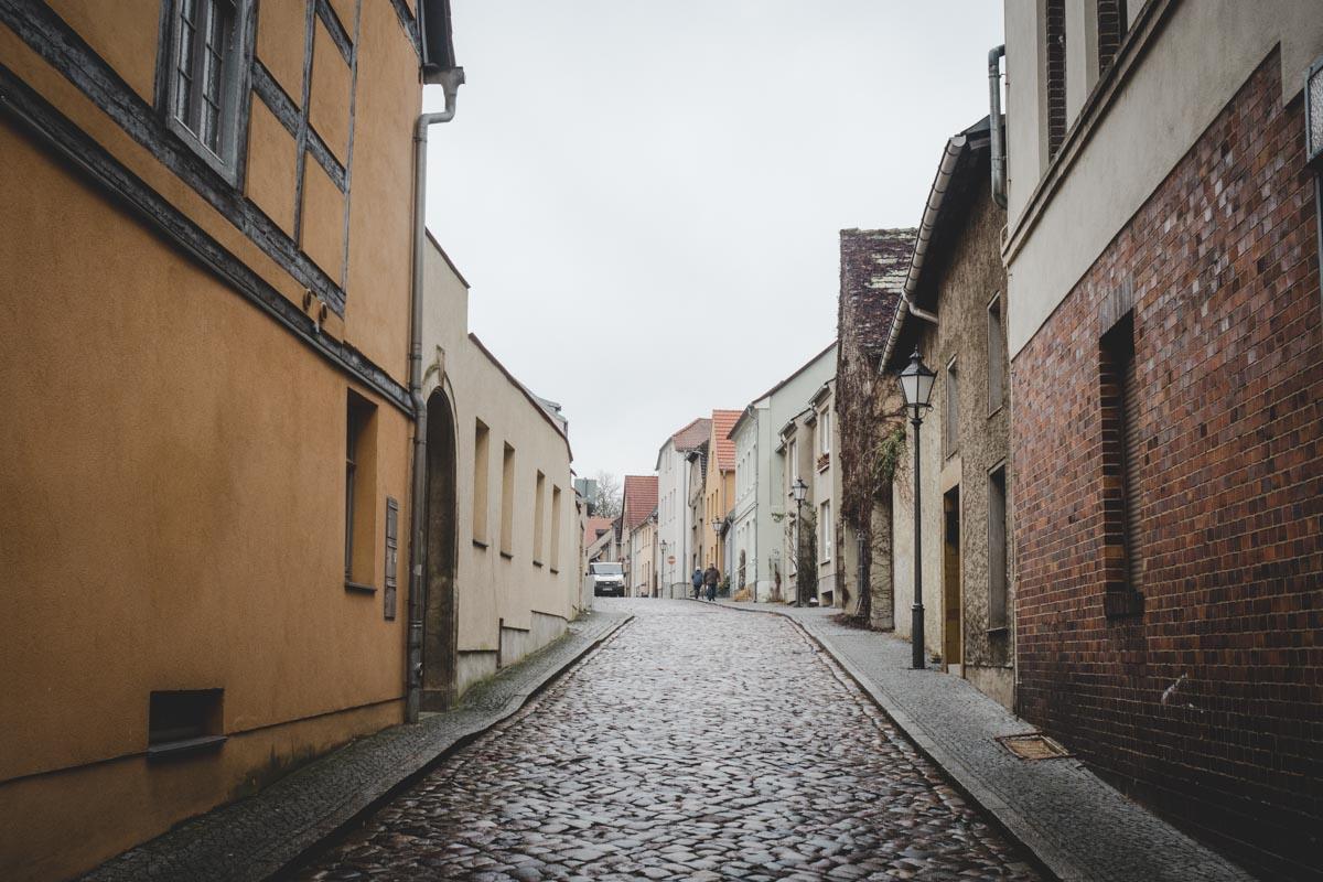 Bad Belzig In Brandenburg Blickgewinkelt