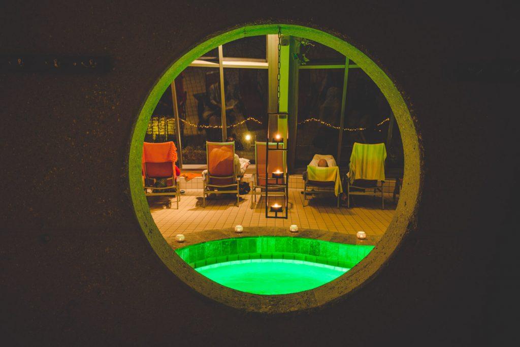 Entspannungsbereich Sauna
