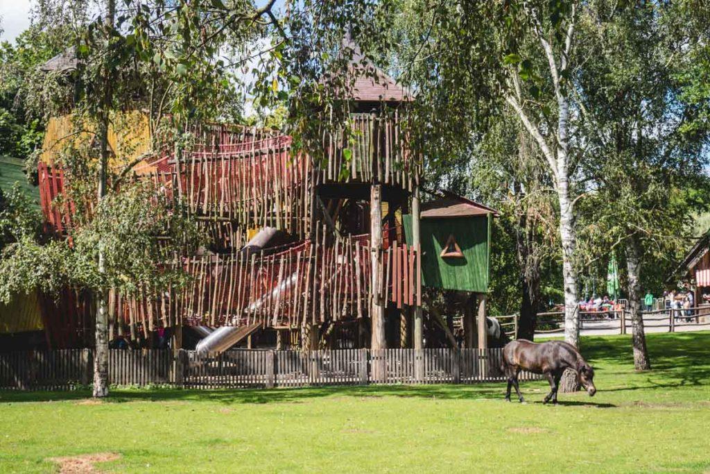 Spielburg im Zoo