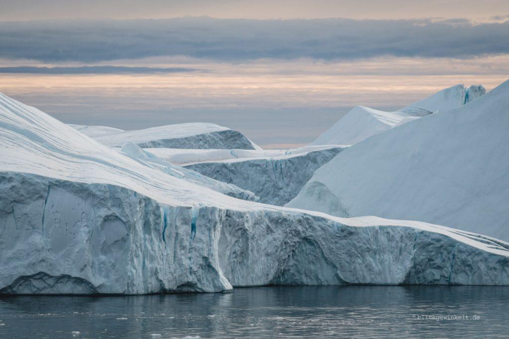 Eisberge am Ilulissat Eisfjord