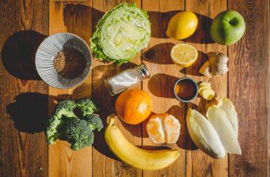 Obst & Gemüse für Smoothies