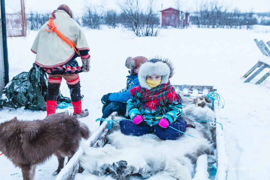 Kinder der Sami