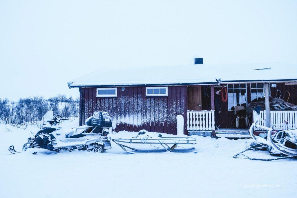 Winterquartier der Sami