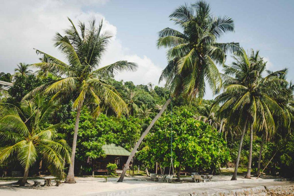 Strandhütte in Thailand