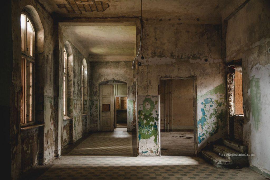 Männersanatorium Beelitz-Heilstätten Innenansicht