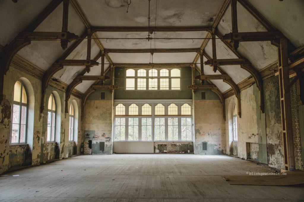 Turnhalle Beelitz-Heilstätten Männersanatorium