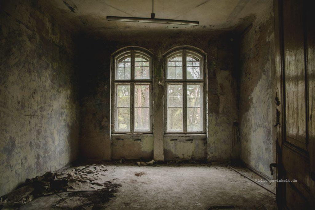 Beelitz-Heilstätten in Brandenburg, Innenansicht