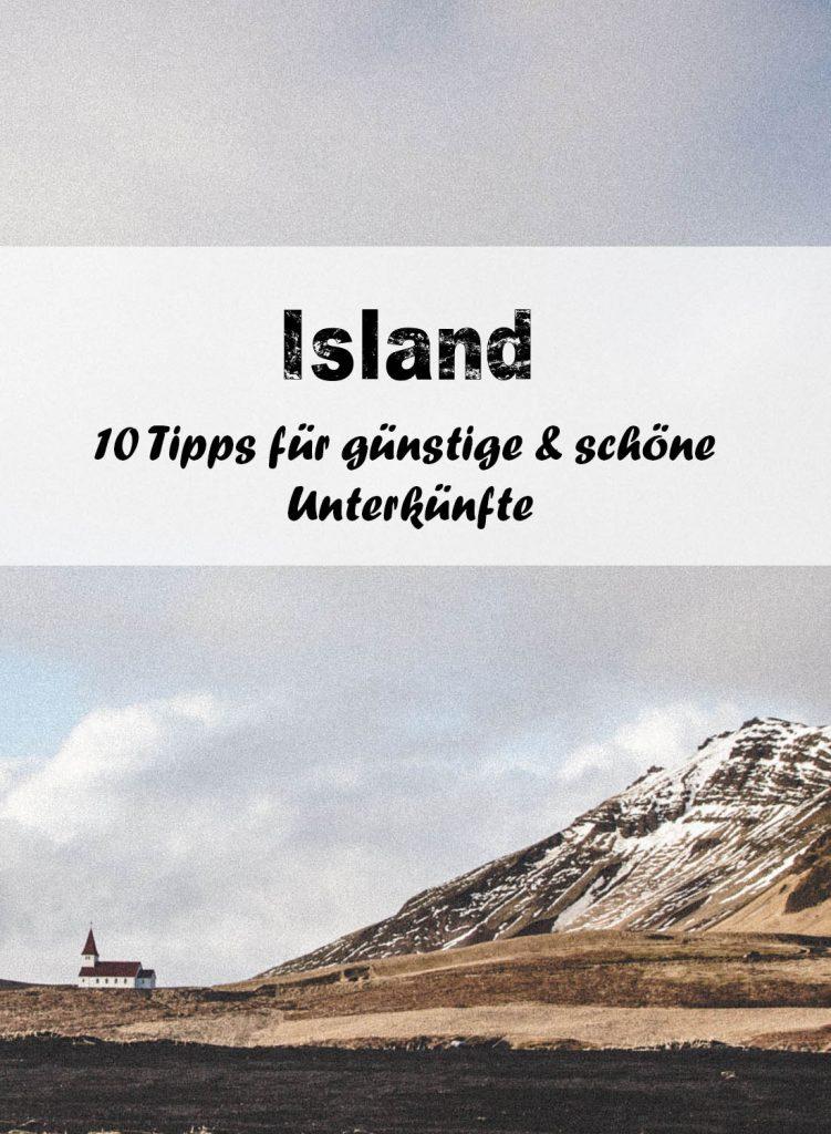 Island: 10 schöne Unterkünfte