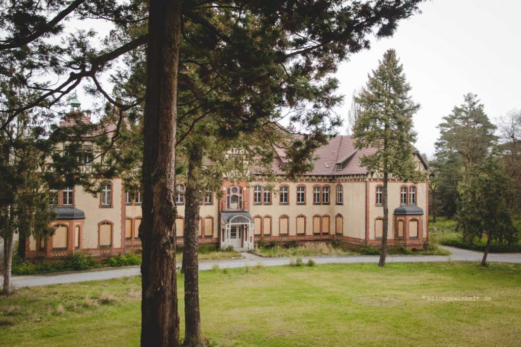 Das Gelände der Beelitz-Heilstätten im Brandenburgischen Fläming