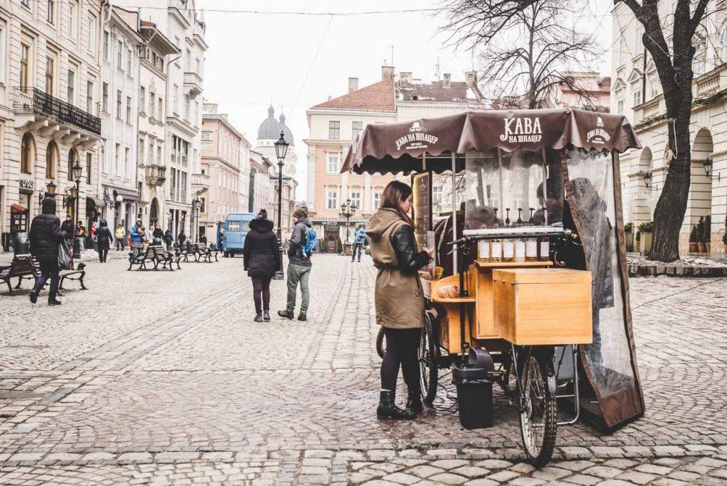 Kaffeekultur in Lviv
