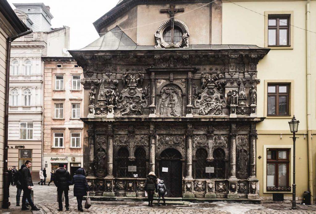 Boim-Kapelle, Lviv