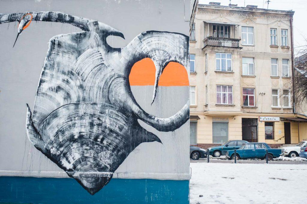 Streetart in Lviv