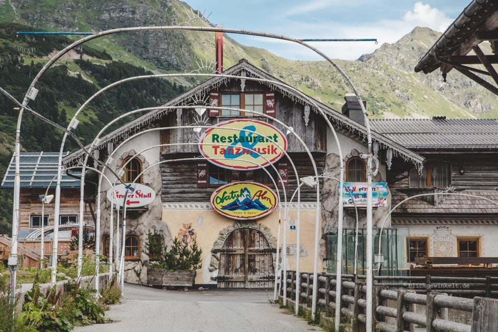 Geschlossenes Hotel-Restaurant