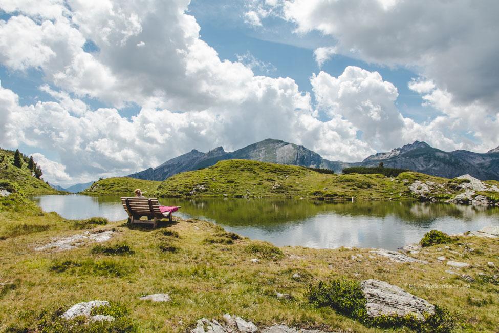 Krumschnabelsee auf dem Gruenwaldkopf