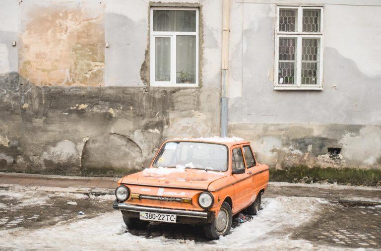 altes Auto Lviv