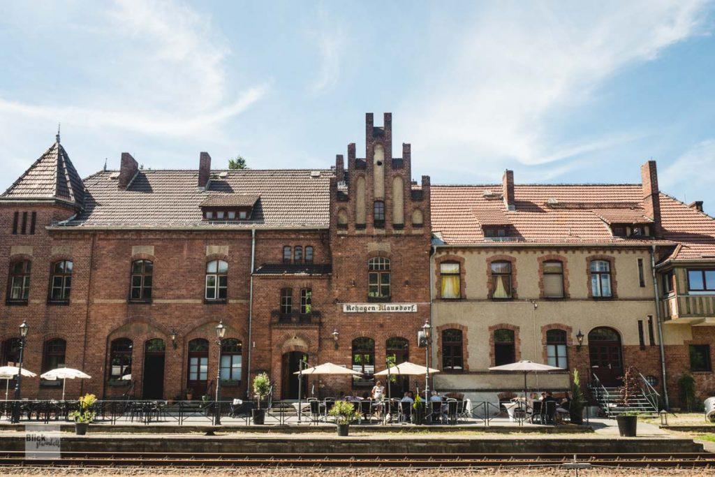 Bahnhof Rehagen in Brandenburg