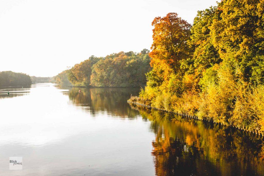 Der Machnower See in Kleinmachnow