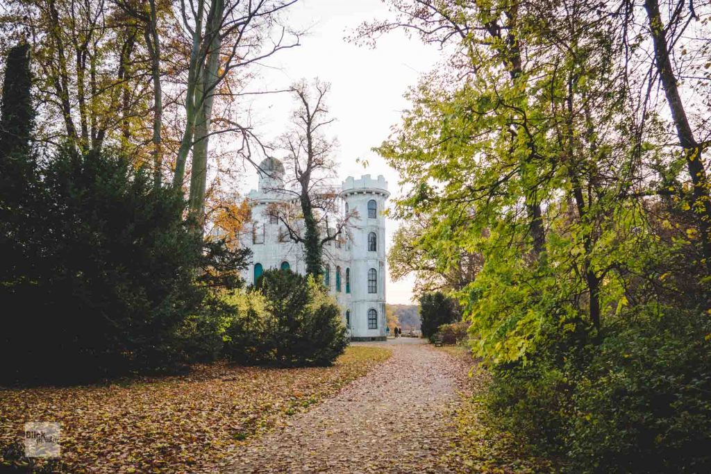 """Das """"Schloss"""" auf der Pfaueninsel Berlin"""