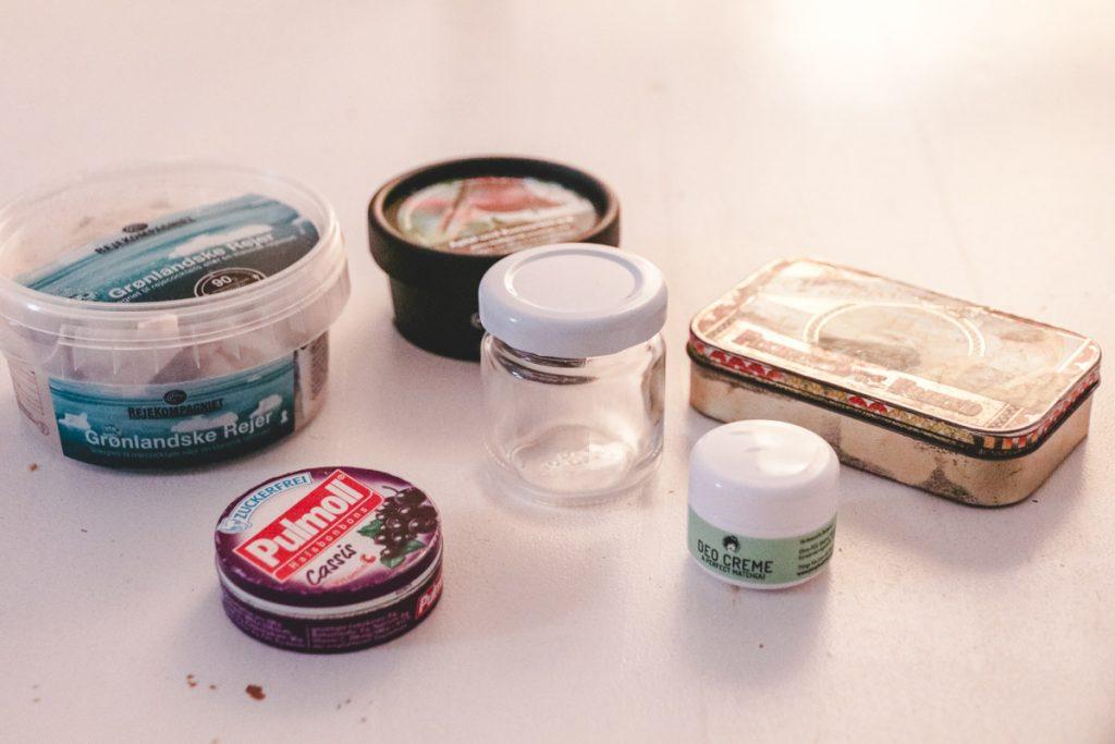 Alte Verpackungen recyceln