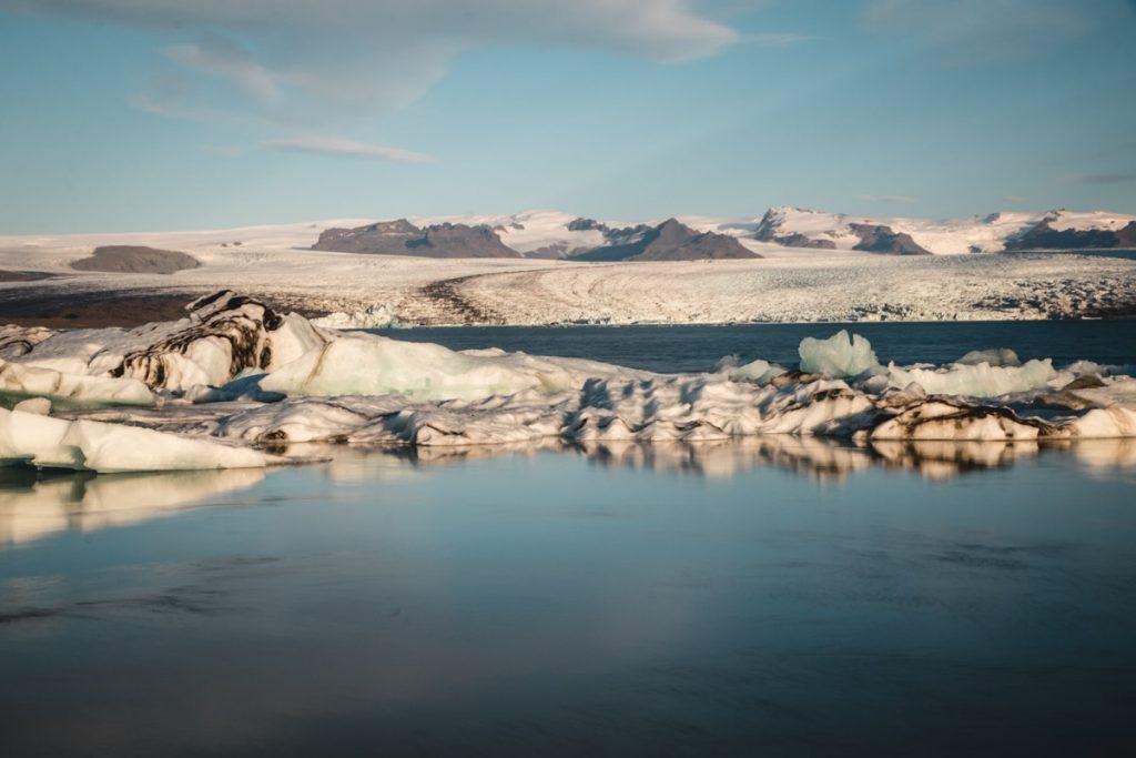 Eislagune in Island