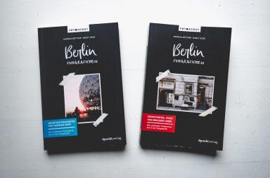 Zwei Bände Berlin fotografieren vom dpunkt.Verlag