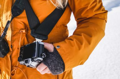 Der nachhaltige Kameragurt von Gruenografie