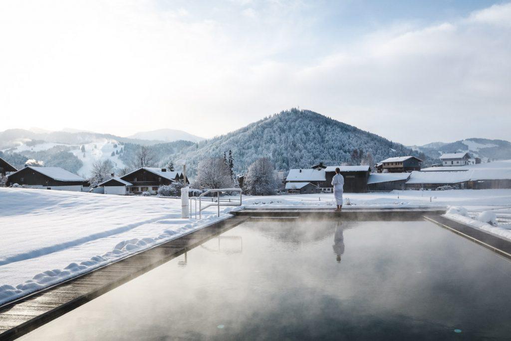 Infinity Pool im Alpenresort