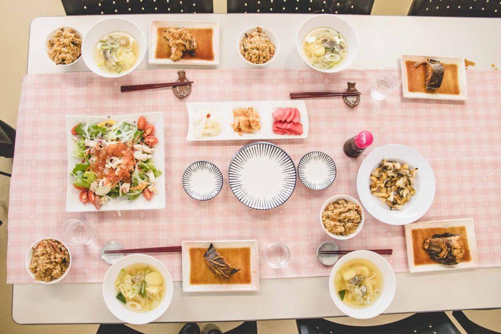 Essen auf Hokkaido