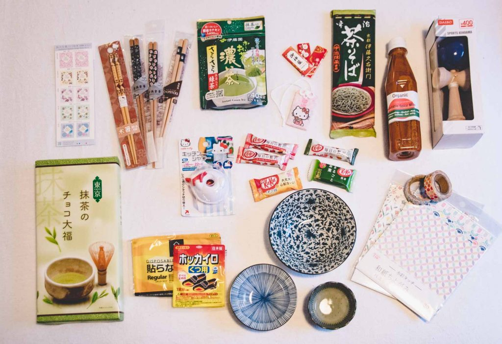 Mitbringsel aus Japan