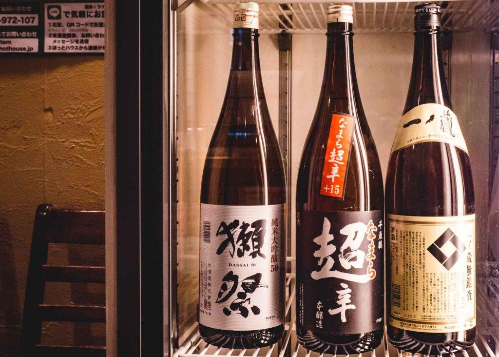 Japanischer Wein aus Hokkaido.