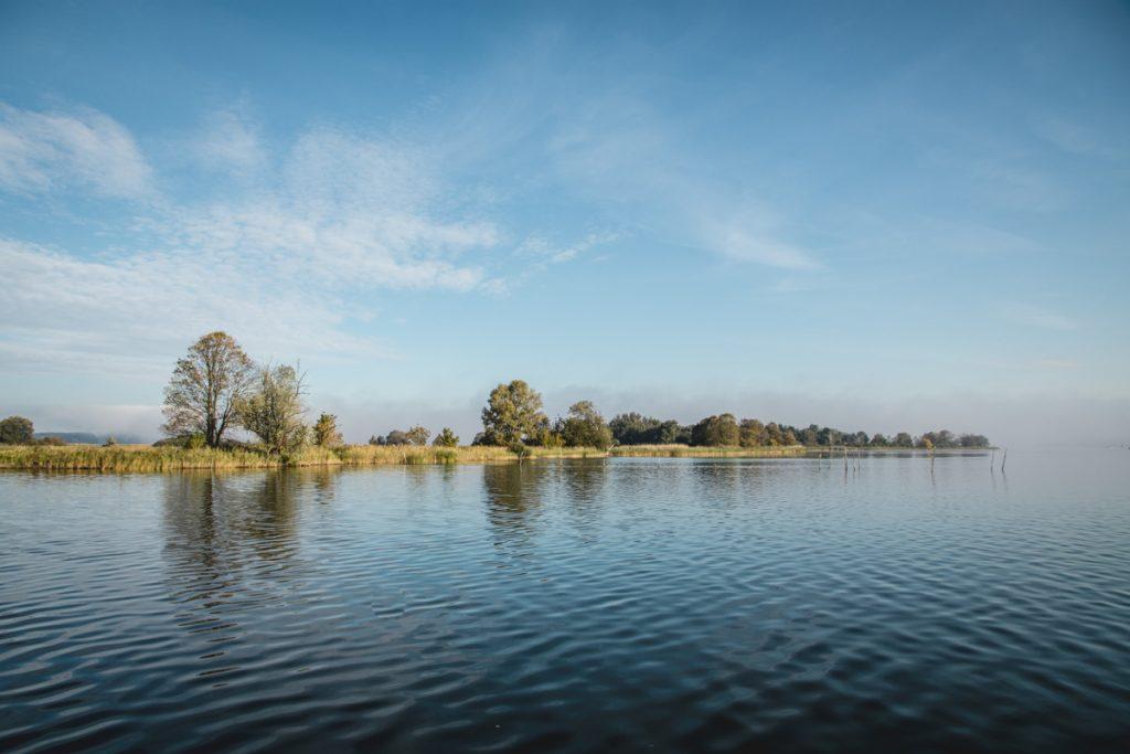 Insel im Breitlingsee, Brandenburg