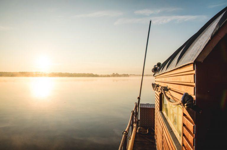 Mit dem Hausboot auf der Havel unterwegs