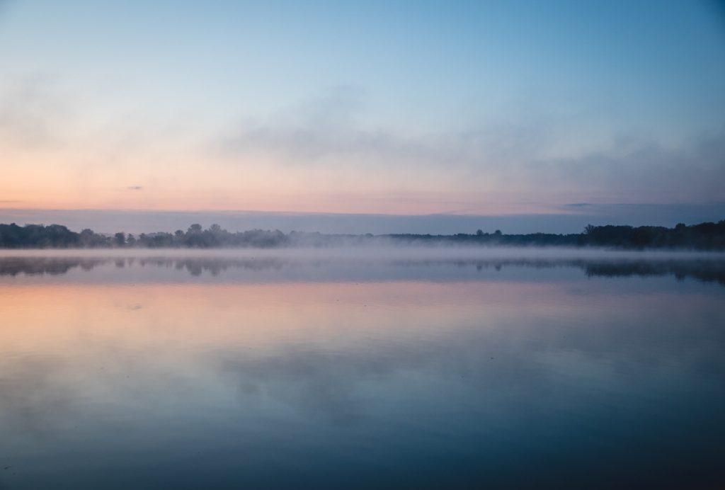 Morgennebel Plauer See
