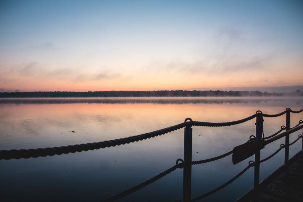 Sonnenuntergang-Plauersee-Brandenburg