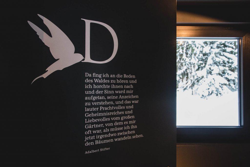 Waldruh-Gedicht von Adalbert Stifter