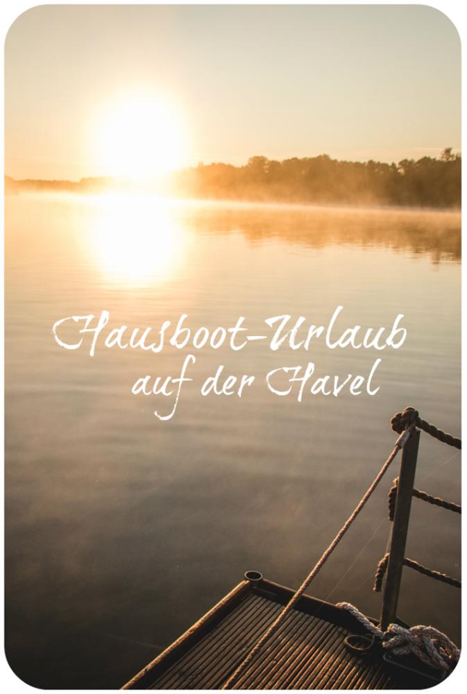 Hausbooturlaub auf der Havel