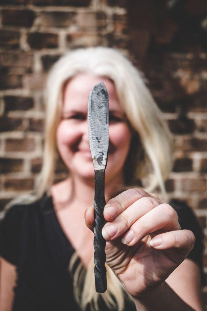 geschmiedetes Messer