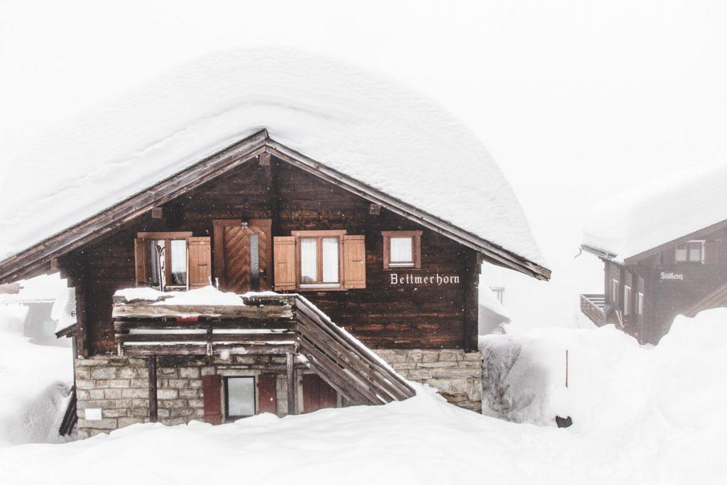 Bettmeralp Holzhaus