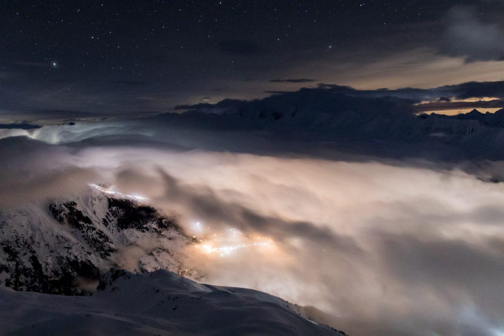 Fieschertal-Nachtaufnahme