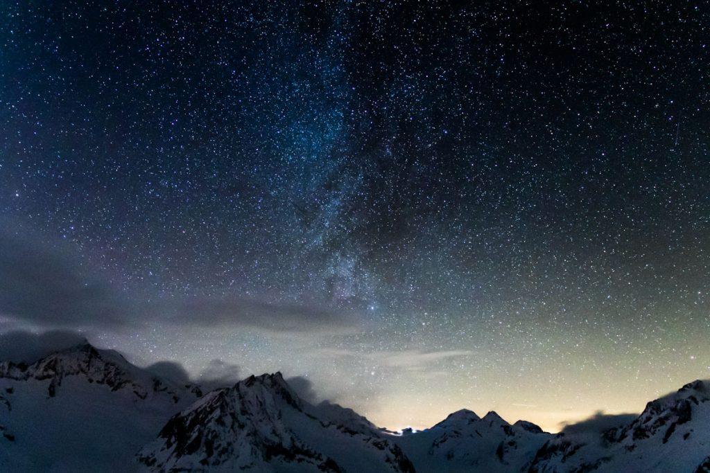 Milchstraße über Jungfraujoch