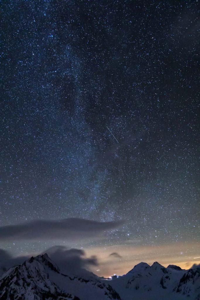 Bild vom Sternenhimmel