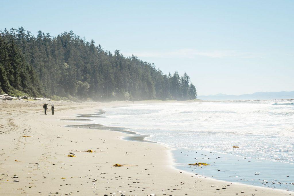 Küstenwanderung West Coast Vancouver Island