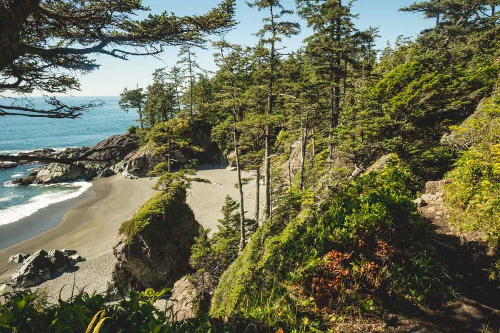 Küstenabschnitt Vancouver Island
