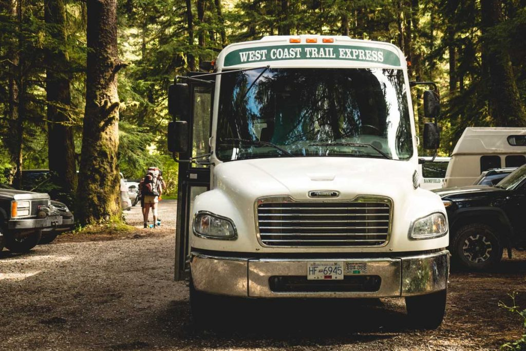 West Coast Trail Express Bus